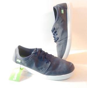 Sanuk Lace Up Cloth Shoes 10.5